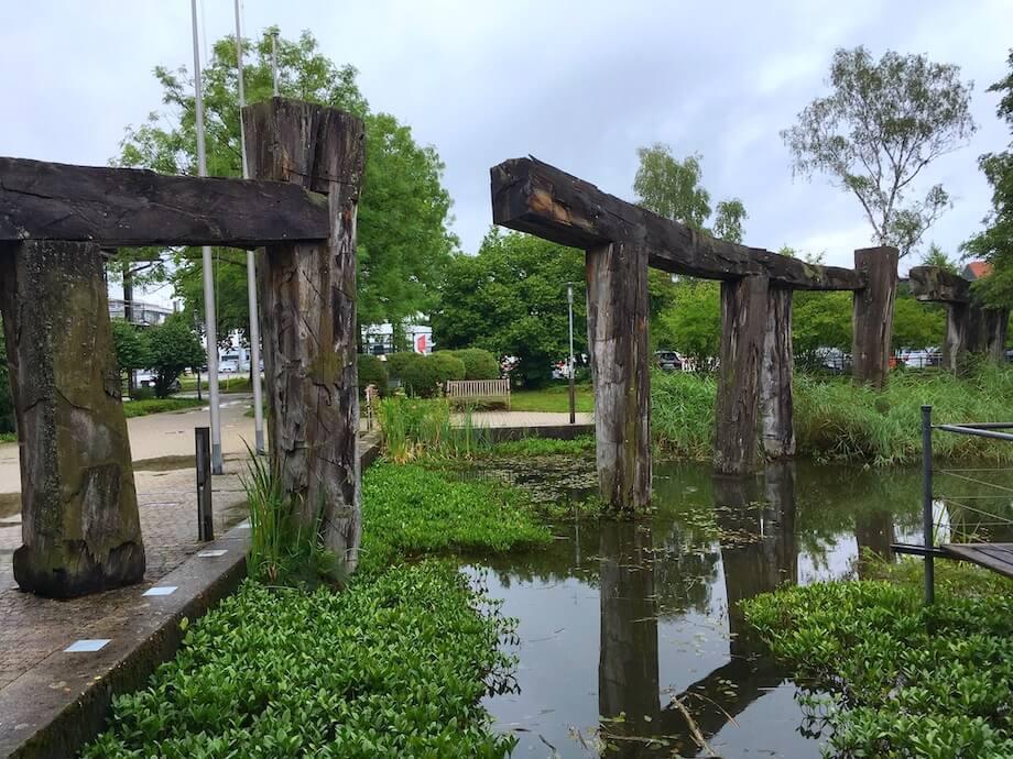 Der Garten vom Landratsamt Starnberg. Foto: Ulrike Ziegler