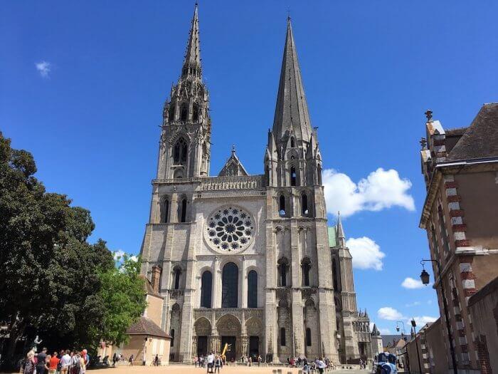 Die Westfassade der Kathedrale von Chartres. Foto: Ulrike Ziegler