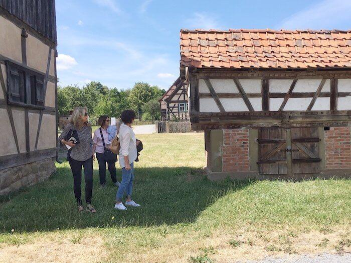 Im Fränkischen Freilandmuseum Fladungen. Foto: Ulrike Ziegler