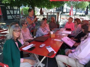 Imbiss im Museumsrestaurant. Foto: Ulrike Ziegler