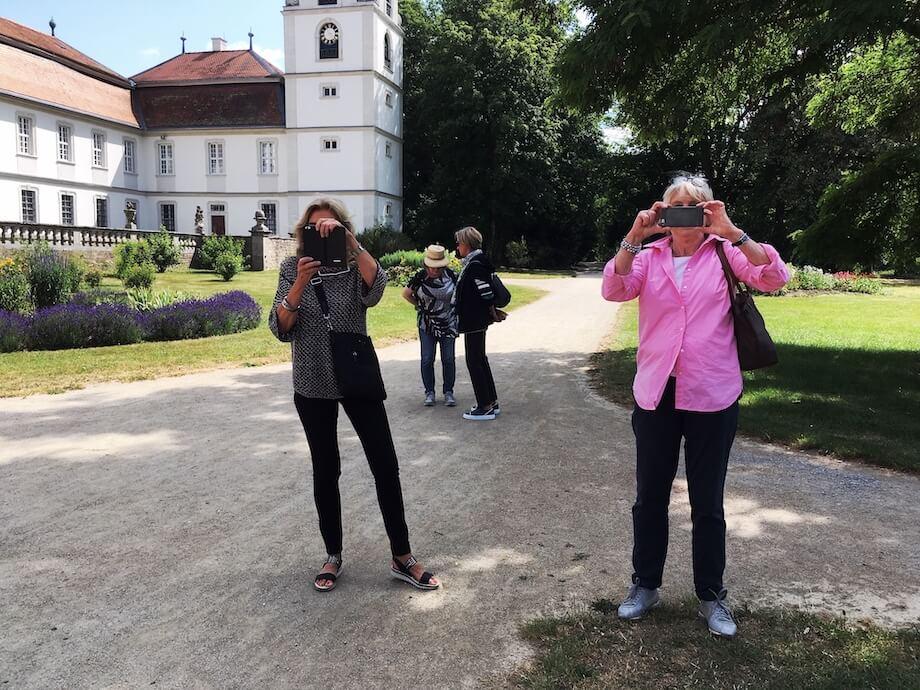 Im Park der Fasanerie bei Fulda. Foto: Ulrike Ziegler
