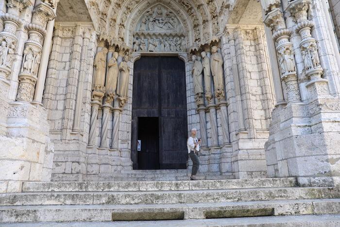 Chartres, das Nordportal der Kathedrale. Foto: Stephan Bleek