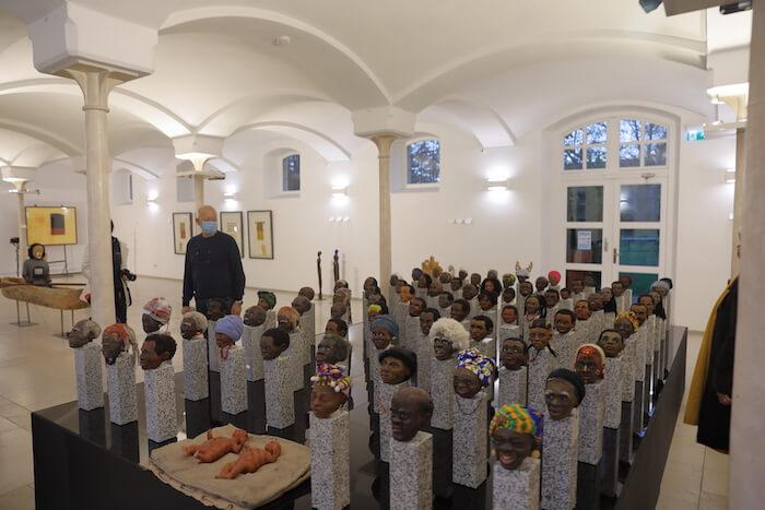 Die Installation »Menschen« von Leon Pollux. Foto: Stephan Bleek