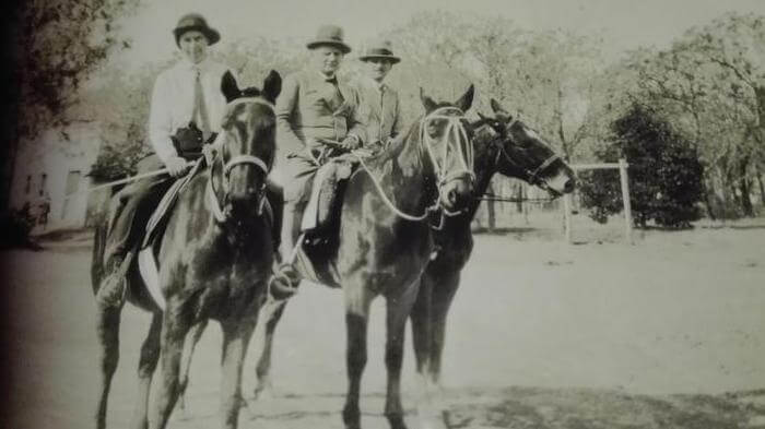 Die Besitzer der Estancia um 1943. Foto: Privat