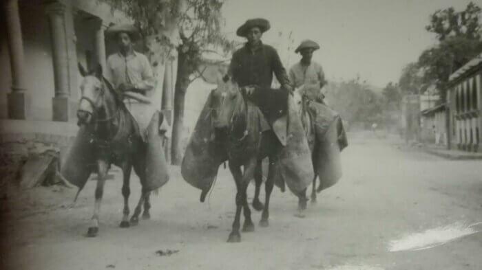 Reiter auf der argentinischen Estancia. Foto: Privat