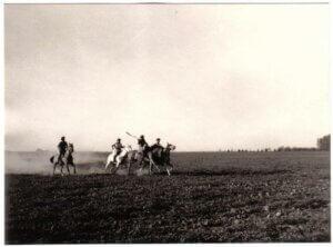 Reiter in der Pampa. Foto. Privat