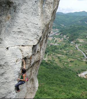 Freeclimbing in Ligurien