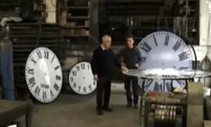 In der Werkstatt des Turmuhrenmachers